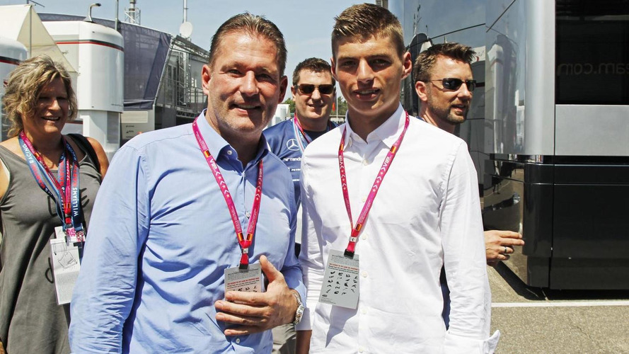 Verstappen says son Max 'hot' topic in F1 paddock