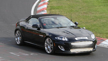 2013 Jaguar XE mule spied on the ring 20.09.2011
