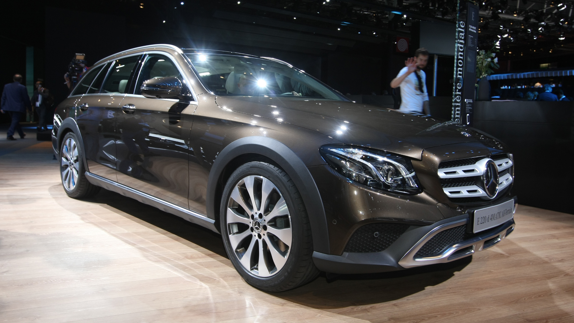 Mercedes E Class All Terrain Might Just Be All The Car You