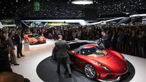 Koenigsegg Regera debut in Geneva