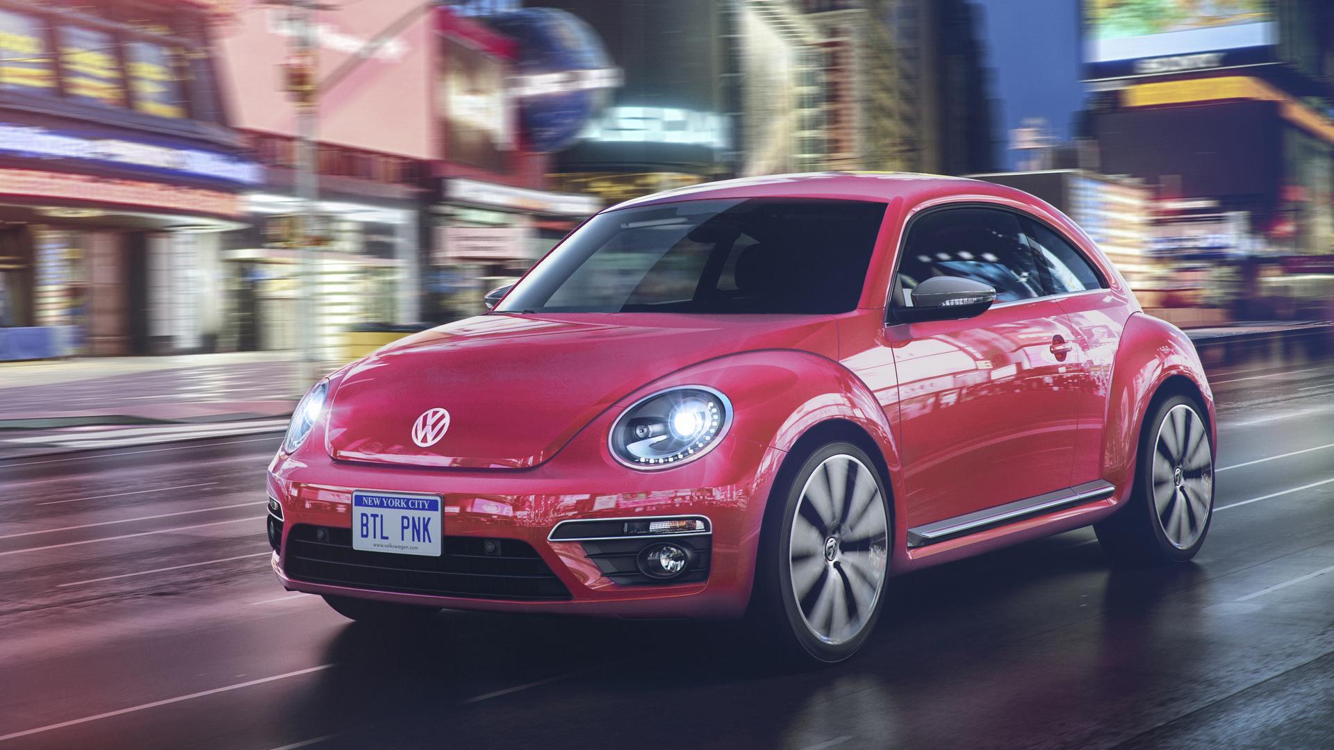 2017 Volkswagen Beetle Adds Pinkbeetle Special Edition
