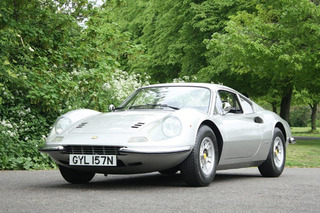 Keith Richards' Ferrari 246 GT Heading to Auction on Friday