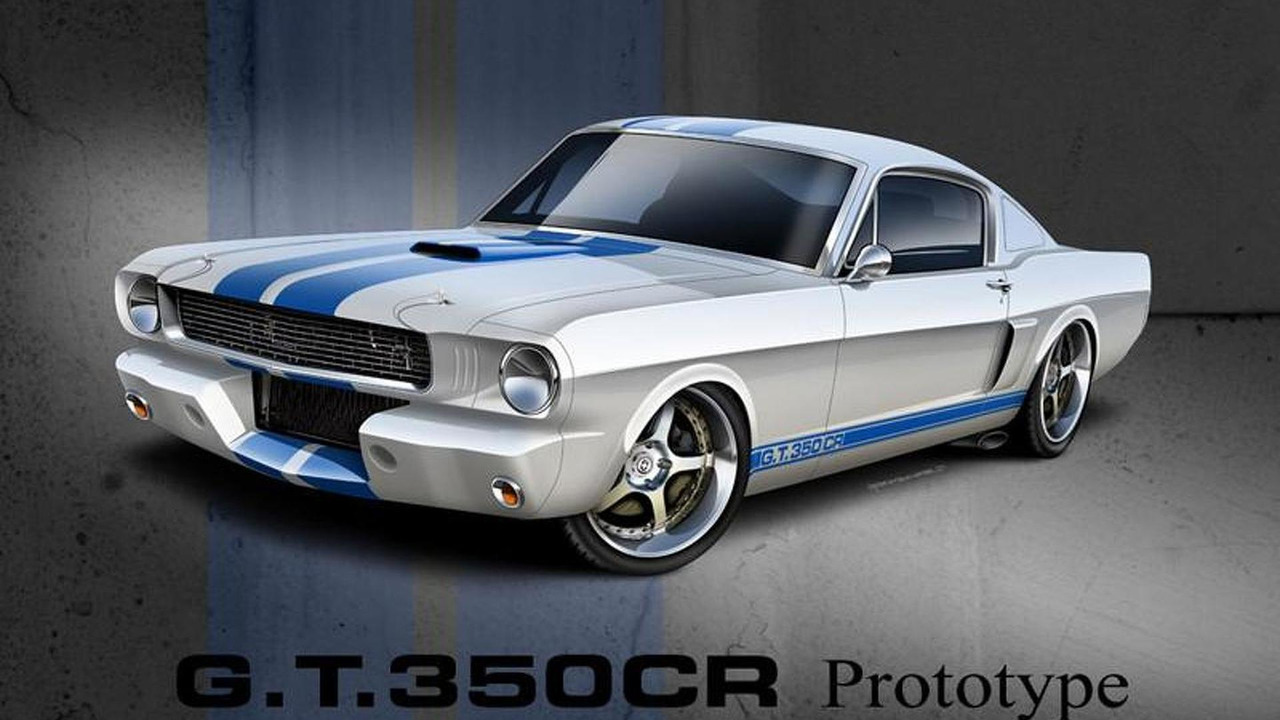 Shelby G.T.350CR rendering by Classic Recreations - 11.8.2011