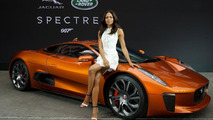 Jaguar Land Rover vehicles from Spectre