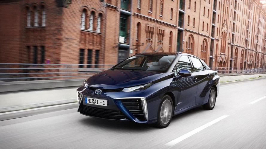 Toyota Mirai FCV receives UK gov funding for 20 vehicles