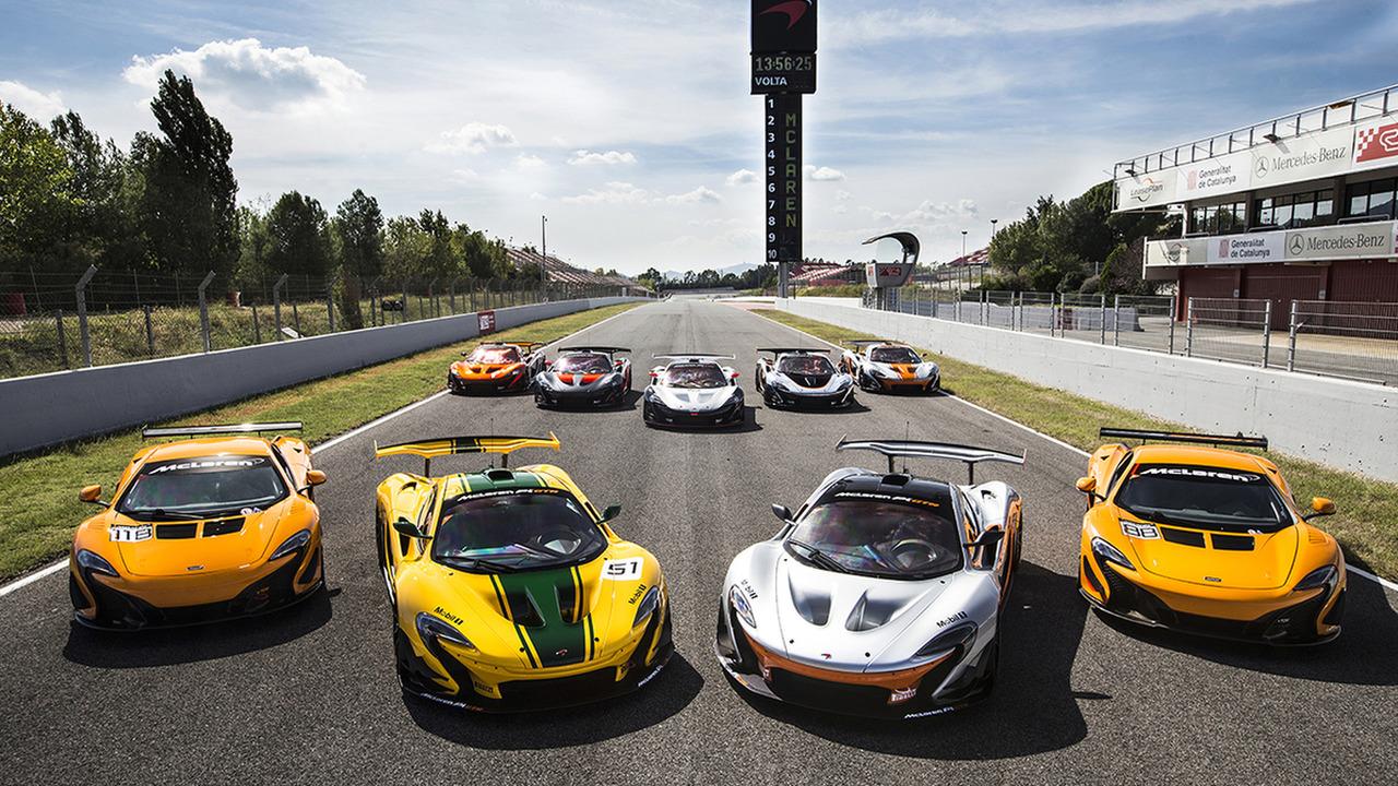 McLaren P1 GTR Driver Programme
