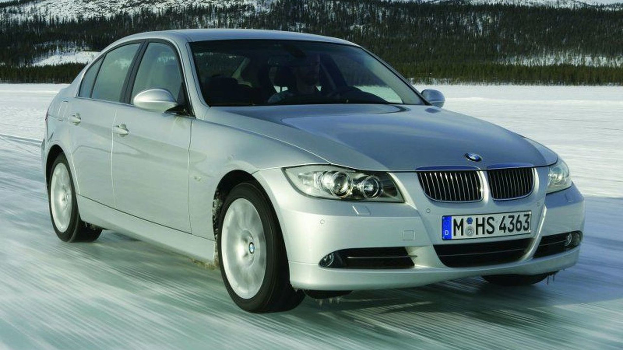 BMW 3 series at New Testing Centre in Sweden