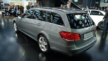 2014 Mercedes-Benz E-Class Wagon live in Detroit 14.01.2013