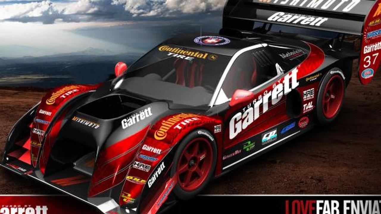 LoveFab Honda NSX-based racer for Pikes Peak 2013