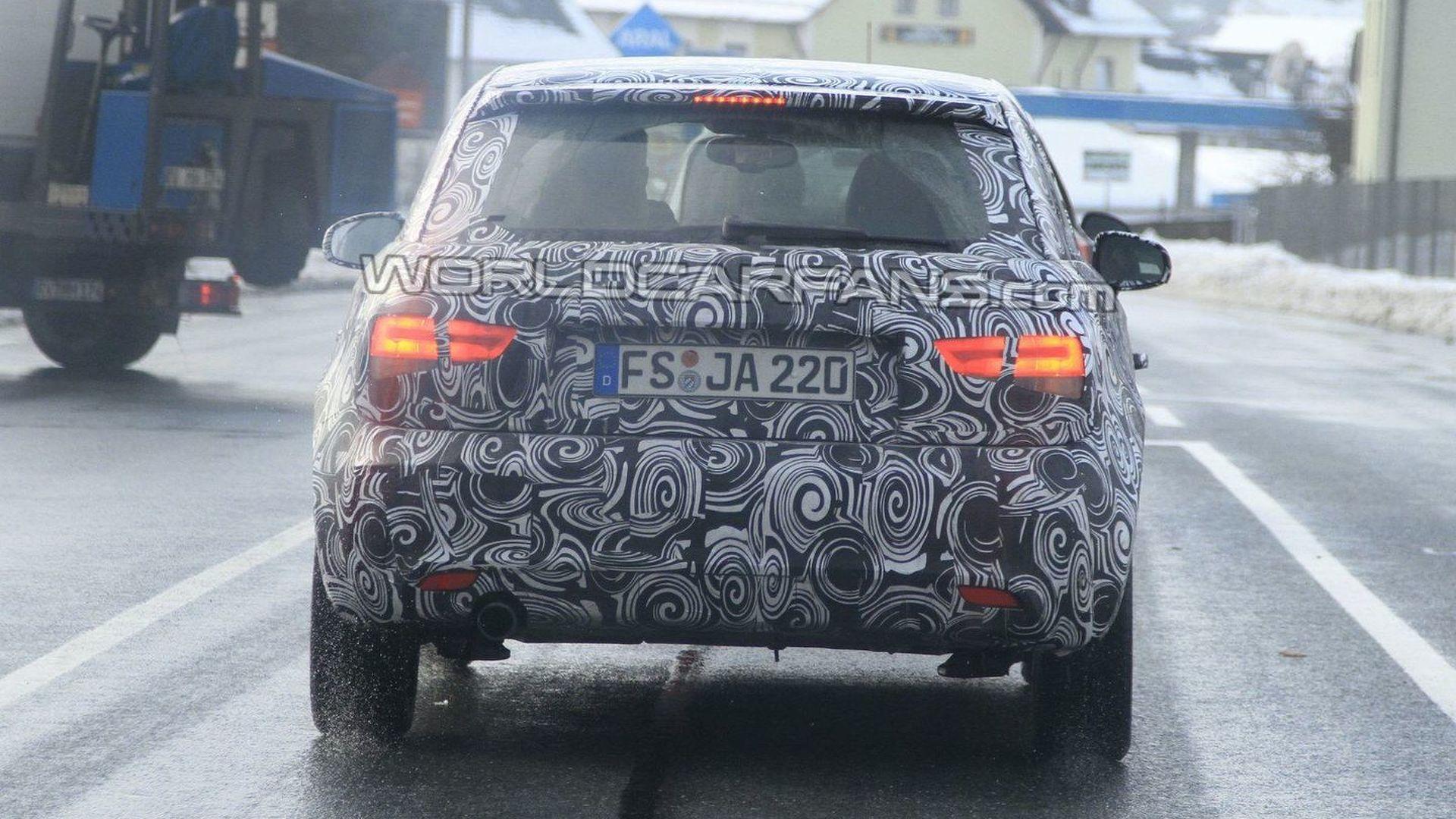 Audi A1 Final Spy Photos - Media Reveal Next Week
