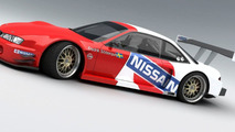 3D Rendered: Time Attack Nissan 200 SX by Vizualtech