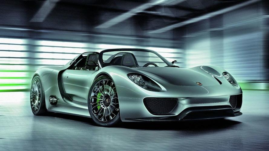 Porsche 918 Supercar to get €500,000 price tag