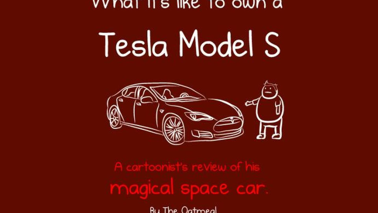 What it is like to own a Tesla Model S drawing