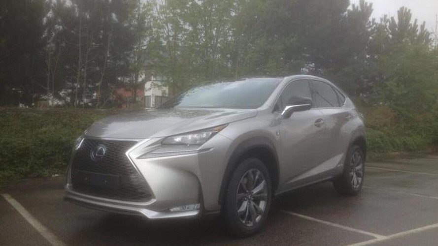2015 Lexus NX shows its angular design in a parking lot