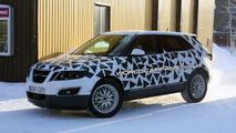 Saab 9-4X spy photo