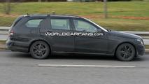 Mercedes E Class Estate/Wagon Prototype Spy Photo