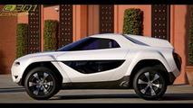 Changan Motors e301 Crossover Concept
