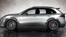 Wide-body Porsche Cayenne by Mansory live in Geneva - 02.03.2011