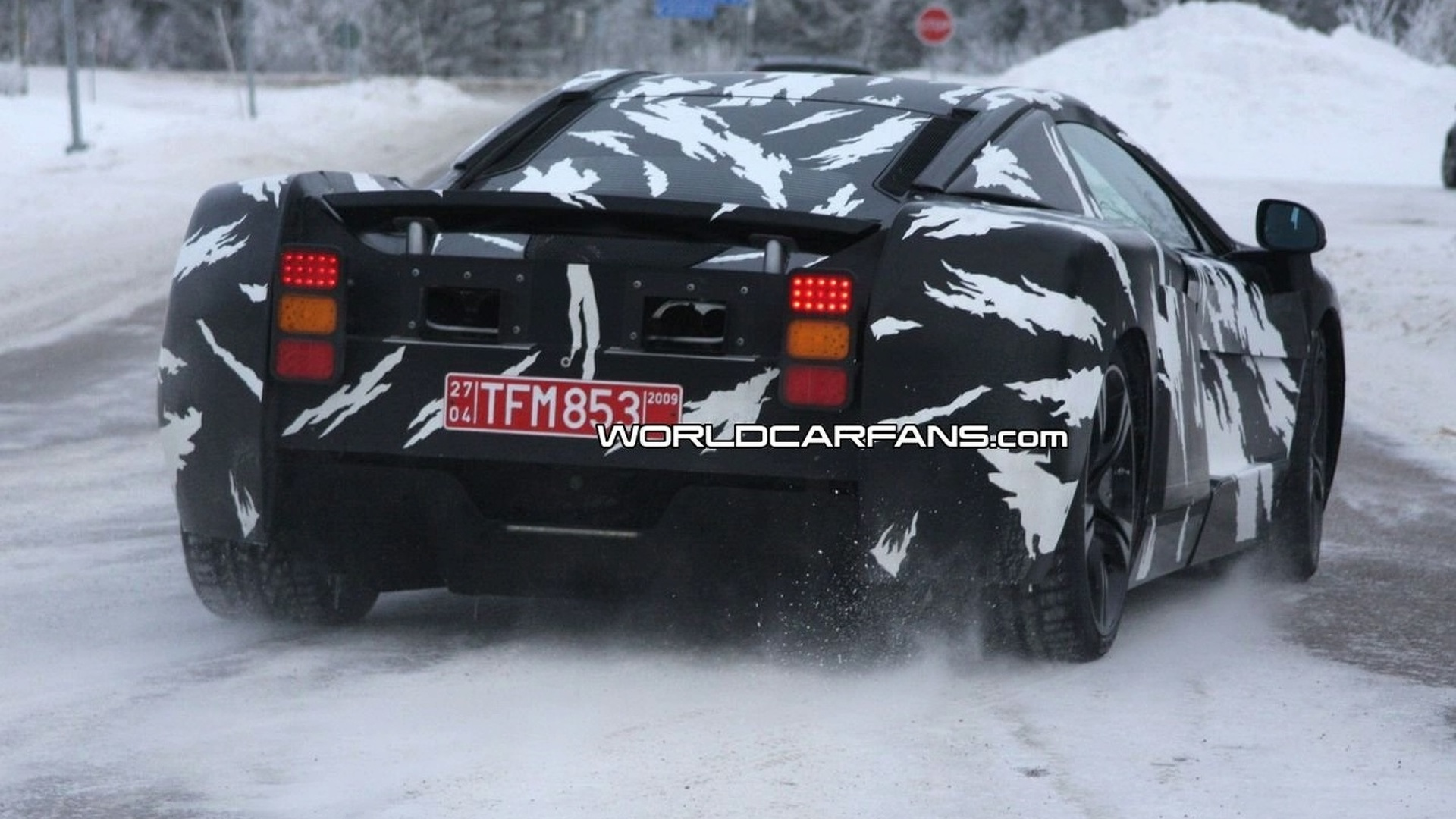 McLaren P11 Clearer Spy Photos - Second Outing During Winter Testing