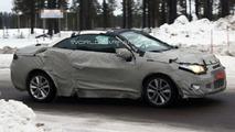 Renault Megane CC Spied Winter Testing