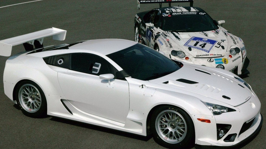 Lexus Returns to 24 Hours of Nurburgring with Production Based LFA