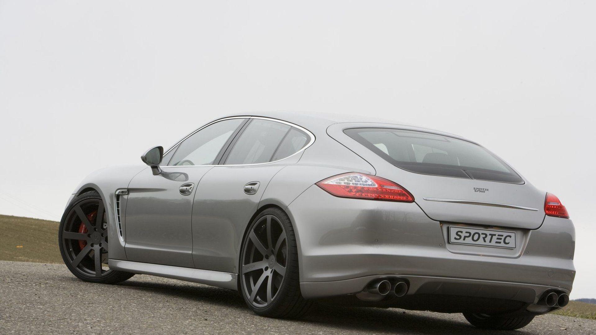 Sportec SP560 Tuning Upgrades Announced for Porsche Panamera Turbo