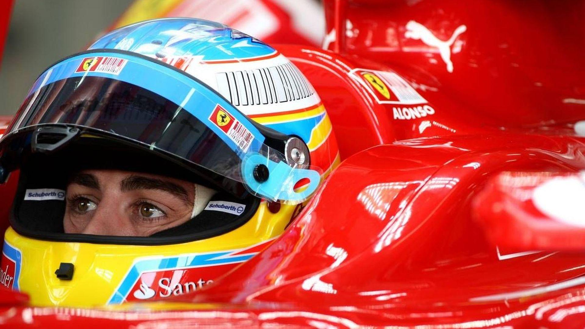 Ferrari also changes Alonso's engine