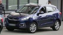 Hyundai ix35 caught in Frankfurt one day before official unveiling