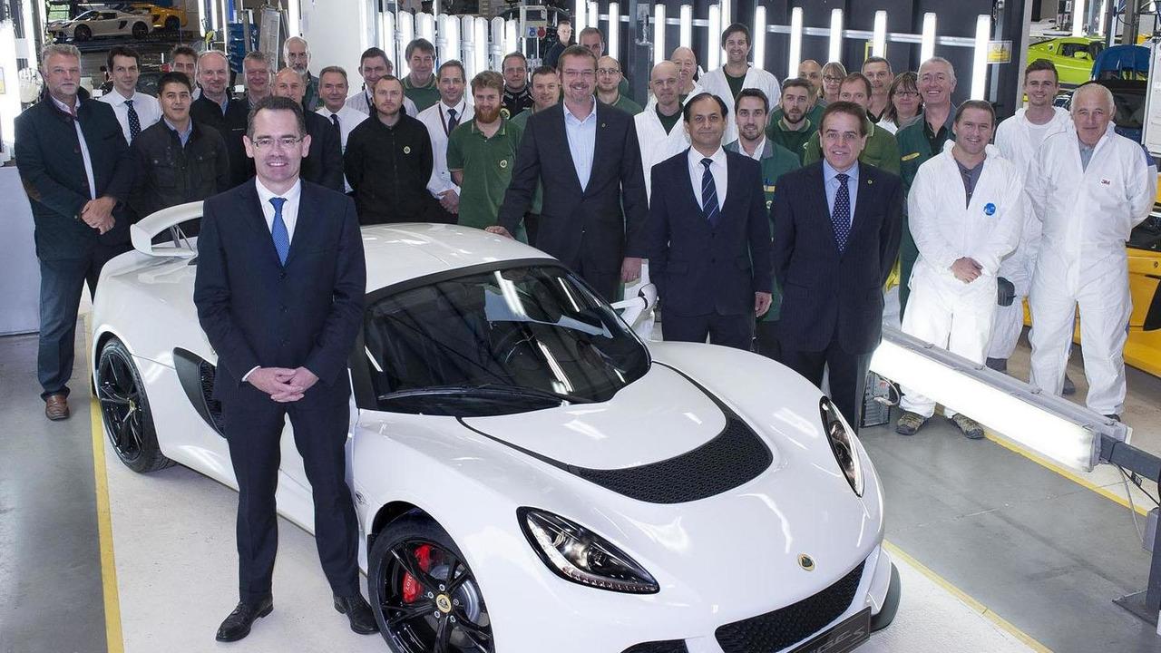 1000th Lotus Exige S