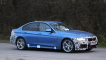 BMW 3-Series facelift spied with M Sport package