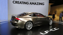 Lexus LF-CC concept live in Paris 27.9.2012
