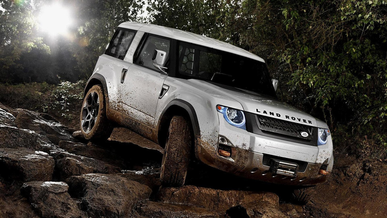 Land Rover DC100 Defender Concept F3Q Edit