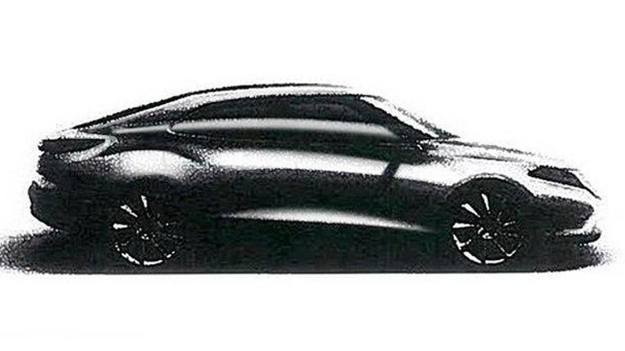 Leaked sketch of 2012 Saab 9-3 01.11.2011