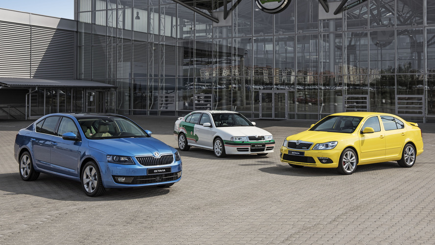 Skoda marks 20 years of Octavia