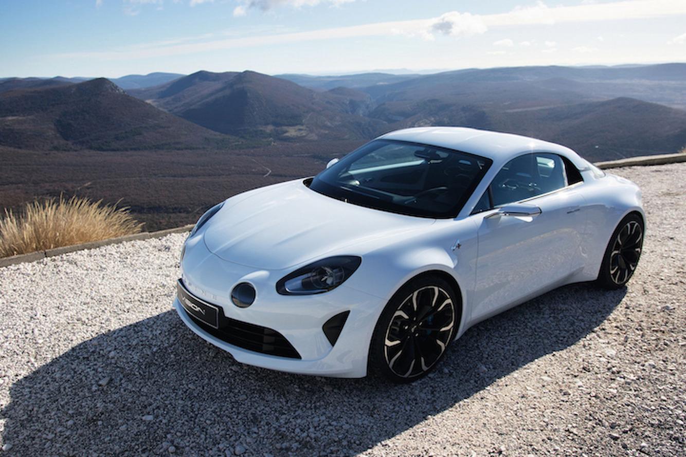 Reborn Alpine Vision Sports Car Takes Aim at Porsche and Alfa Romeo