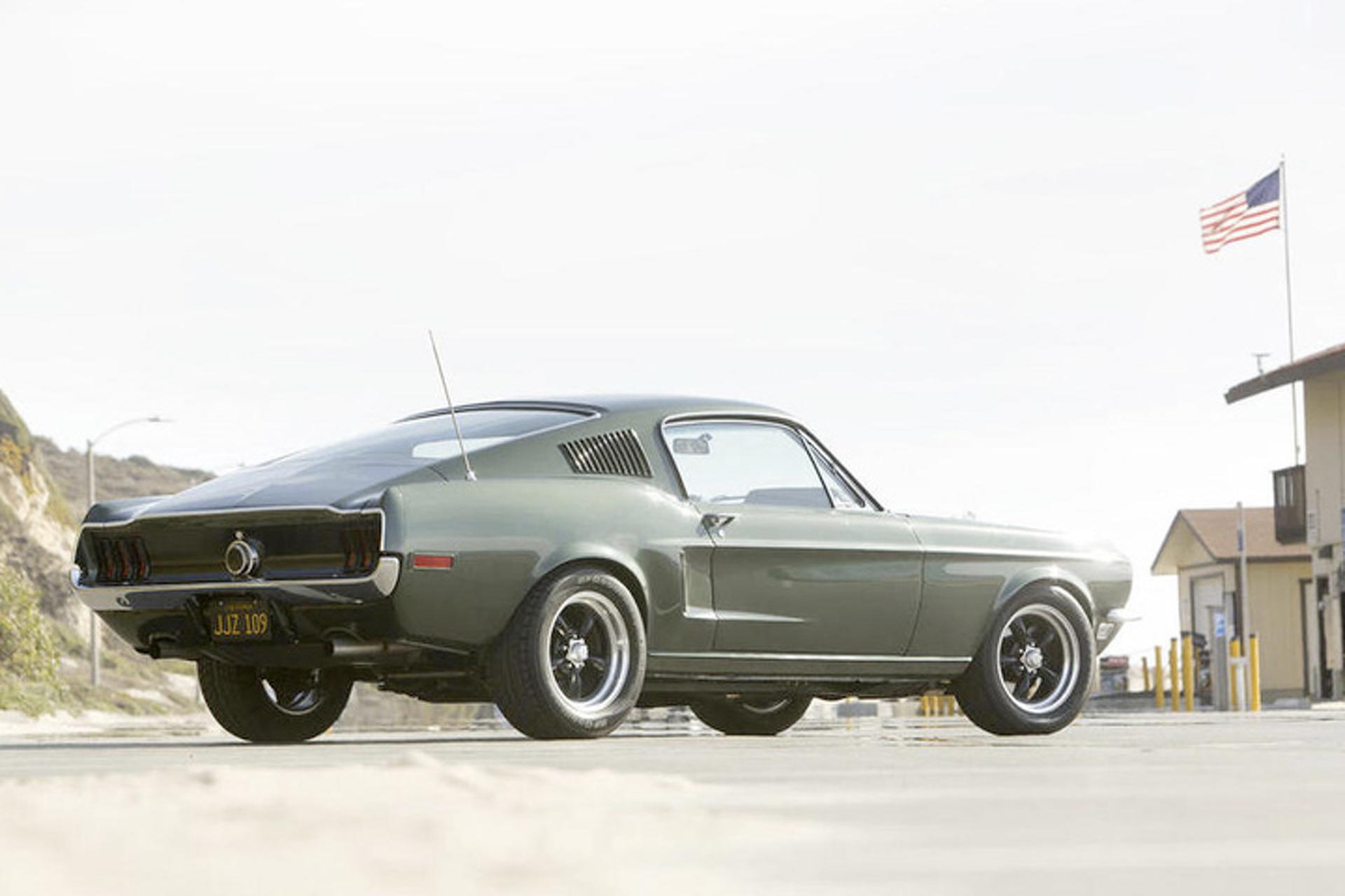 """McQueen's '68 """"Bullitt"""" Mustang Tribute Build"""