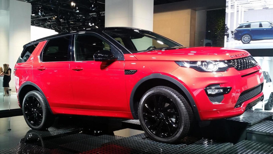 Land Rover Discovery Sport Dynamic revealed of ahead of Frankfurt