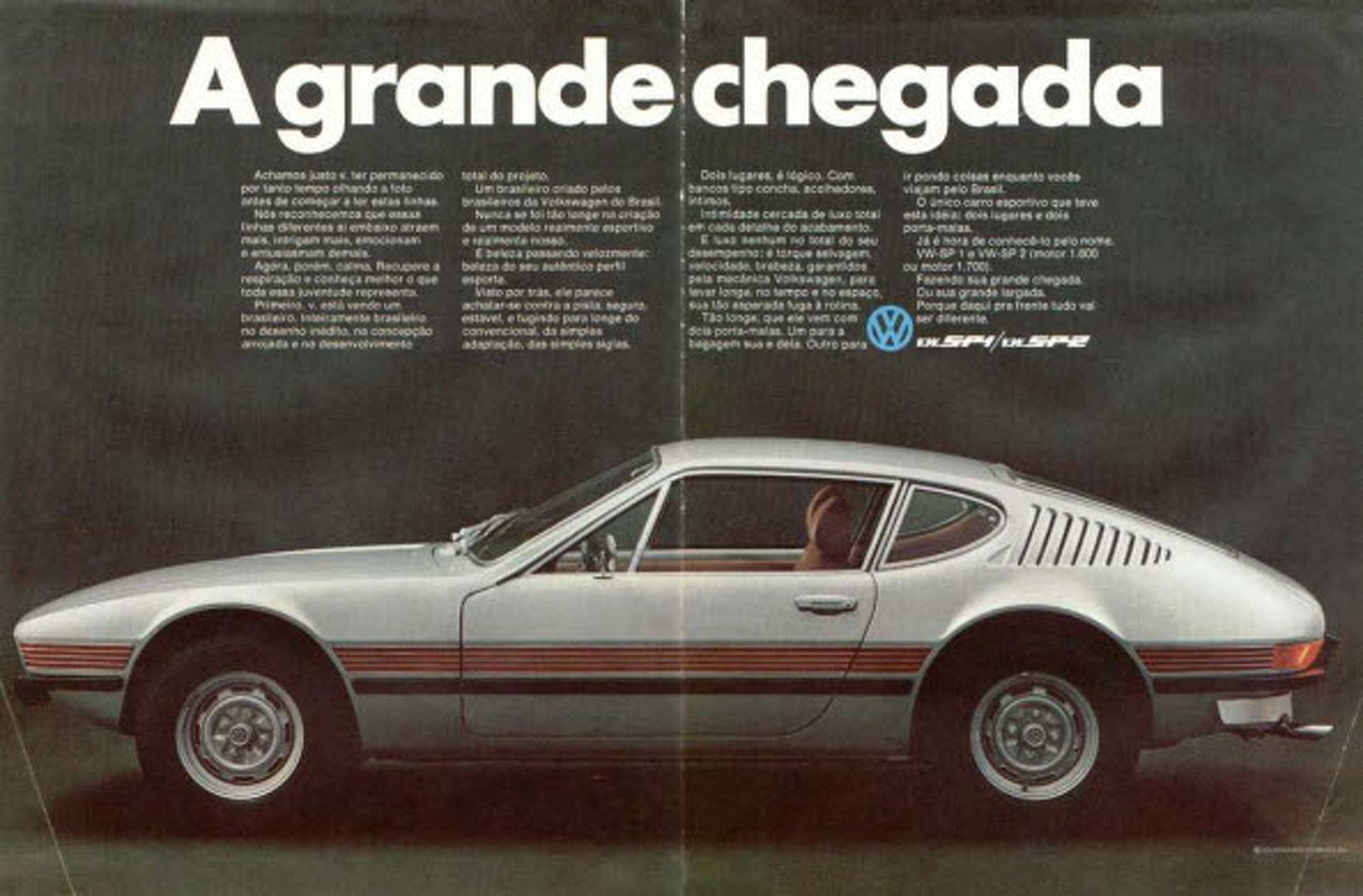 1972-1976 Volkswagen SP2 | It Rolls.