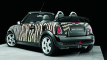 MINI wears Bisazza - Zebra pattern