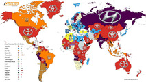 Infográfico mostra marcas mais buscadas por país em 2016