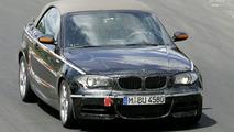BMW 1 Series Cabrio Spied