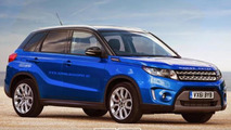 Range Rover Stormer rendered as an entry-level model