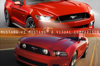 Mustang vs Mustang: A Visual Comparison