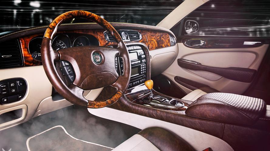 Jaguar XJ receives 'single malt' interior from Vilner
