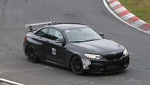 2016 BMW M235i Racing / Racing Cup spied with a new rear wing