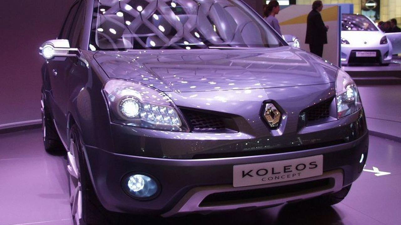Renault Koleos Concept at Paris