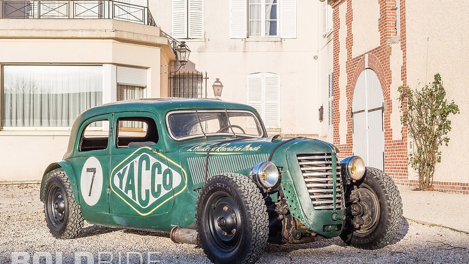 Citroen Traction Avant Yacco