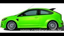 Revista alemã divulga novas imagens do provável visual do novo Ford Focus RS