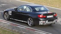 BMW M4 Convertible drops most of its camouflage in latest spy pics