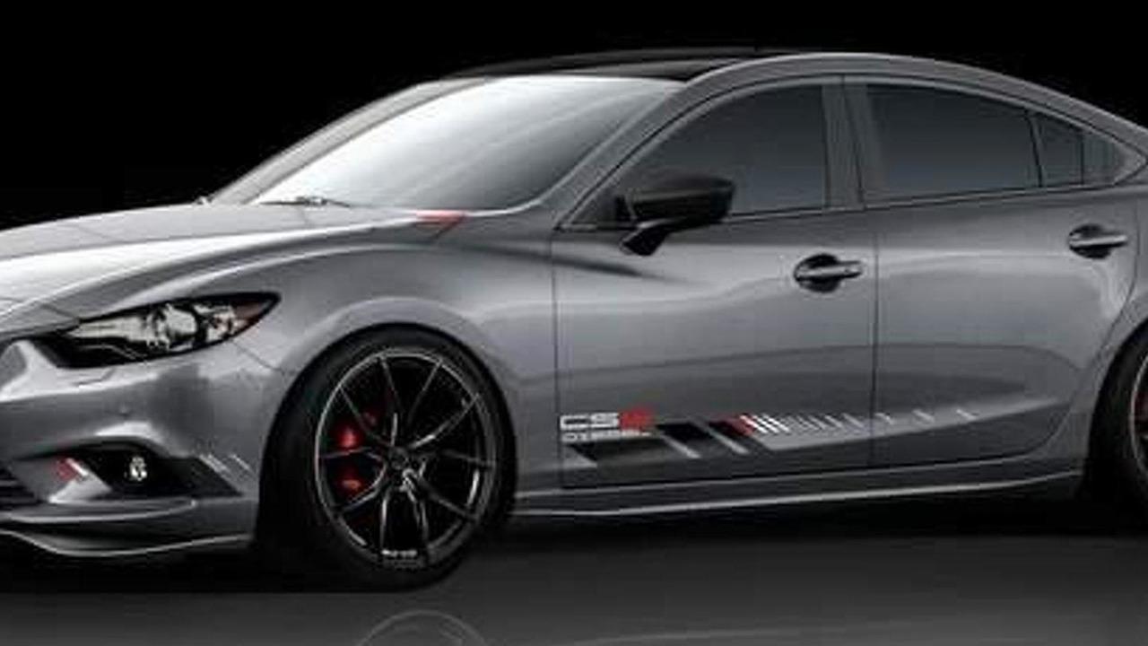 Mazda6 concept for SEMA 28.10.2013